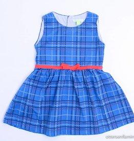 Kiekeboe (FNG) Blauw ruiten kleedje, Kiekeboe - 86