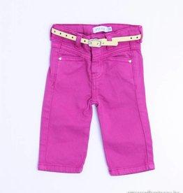 Filou & Friends Paars/roze jeansbroekje, Petit Filou - 62