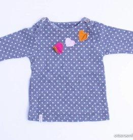 Filou & Friends Grijs kleedje bolletjes, Petit Filou - 68