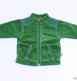 Kiekeboe (FNG) Groen velours vestje, Kiekeboe - 62