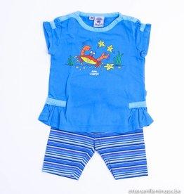 Woody Blauwe zomerpyjama krab, Woody - 62