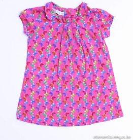 Filou & Friends Roze kleedje vlinders, Petit Filou - 86
