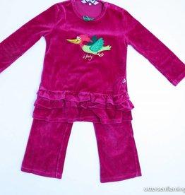 Woody Roze winterpyjama, Woody - 104