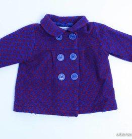 Filou & Friends Blauw jasje bolletjes, Petit Filou - 74