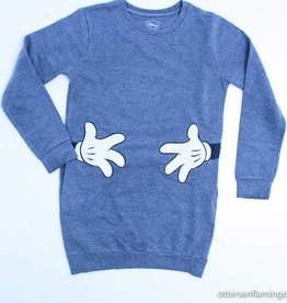 Little 11 Paris Grijs sweaterkleed, Little 11 Paris - 140