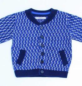 Hilde en Co (FNG) Blauwe cardigan, Hilde en Co - 80