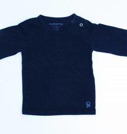 mambotango Zwarte longsleeve T - Shirt, Mambotango - 86/92