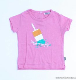 Imps & Elfs Roze T - Shirt ijsje, Imps en Elfs - 68