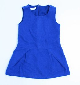Filou & Friends Blauw wollen kleedje, Filou en Friends - 98