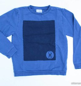 Blauwe sweater, GRO - 128/134