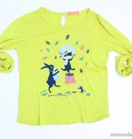 Fred & Ginger (FNG) Gele longsleeve T - Shirt, Fred en Ginger - 140