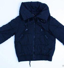 Essentiel Zwarte winterjas, Essentiel Girls - 140