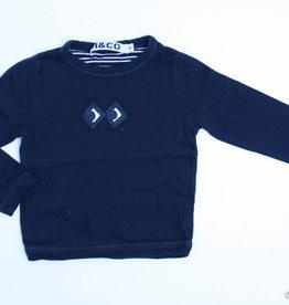 Hilde en Co (FNG) Zwarte longsleeve T - Shirt, Hilde en Co - 104