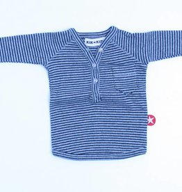 Kik Kid Gestreepte longsleeve T - Shirt, Kik Kid - 56