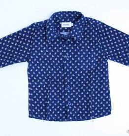 Filou & Friends Blauw hemd uiltjes, Filou en Friends - 92
