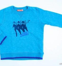 Fred & Ginger (FNG) Groen/blauwe trui, Fred en Ginger - 110