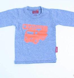 Tapete Grijze longsleeve T - Shirt, Tapete - 62/68