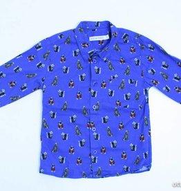 Filou & Friends Blauw hemd hondjes, Filou en Friends - 110
