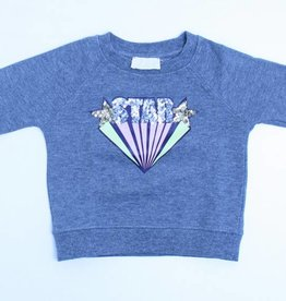 Simple Kids Grijze sweater, Simple Kids - 92