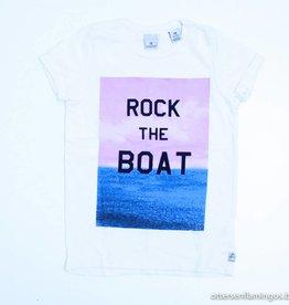 Scotch Shrunk Witte T - Shirt, Scotch Shrunk - 104