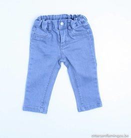 Petit Bateau  Lichtgrijs jeansbroekje, Petit Bateau - 68