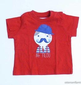 Filou & Friends Rode T - Shirt, Petit Filou - 68