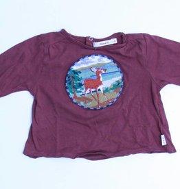 Hilde en Co (FNG) Bruine longsleeve T - Shirt, Hilde en Co - 74