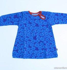 froy en dind Blauw kleedje, Froy en Dind - 62/68
