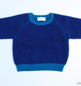 Simple Kids Blauwe trui, Simple Kids - 80
