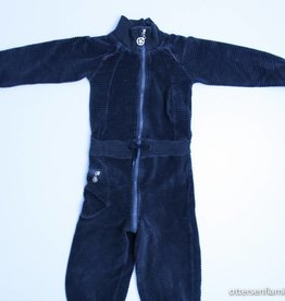 Kik Kid Grijze velours jumpsuit, Kik Kid - 92