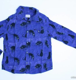 Morley Blauw hemd poezen, Morley - 116