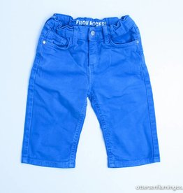 Filou & Friends Blauwe jeansshort, Filou en Friends - 122