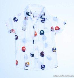Etiket Wit hemdje snookerballen, Etiket - 116