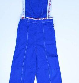 Albakid Blauw broekpakje, Albakid - 110/116