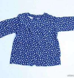 Filou & Friends Blauw blousje poesjes, Petit Filou - 68