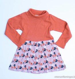 Kiekeboe (FNG) Oranje longsleeve kleedje, Kiekeboe - 86