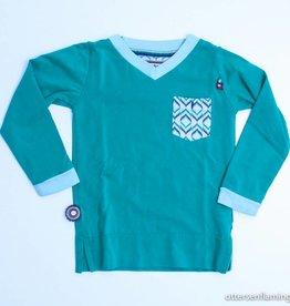 4 Funky Flavours Groene longsleeve T - Shirt, 4FF - 98/104