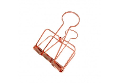 Studio Stationery Binder clips Copper XL, per 4 doosjes