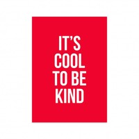 Card Be kind, per 5 pieces