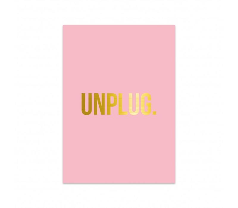 Card Unplug, per 5 pieces