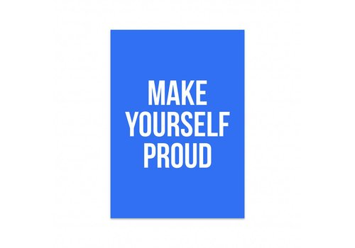 Studio Stationery Card Make yourself proud, per 5 pieces