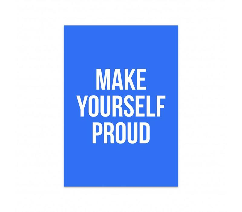 Card Make yourself proud, per 5 pieces
