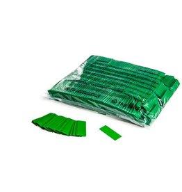 Magic FX Slowfall confetti 55x17 mm - 1kg - Vert Foncé