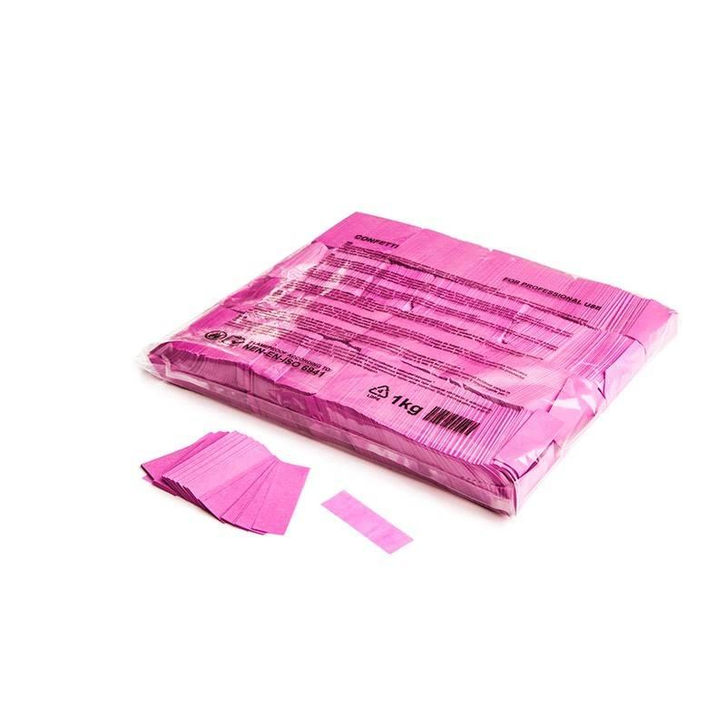 Magic FX Slowfall confetti 55x17 mm - 1kg - Rose