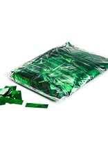 Magic FX Metallic confetti 55x17 mm - 1kg - Groen
