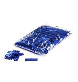 Magic FX Metallic confetti 55x17 mm - 1kg - Blauw