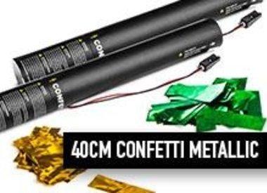 40 cm Confetti Metallic