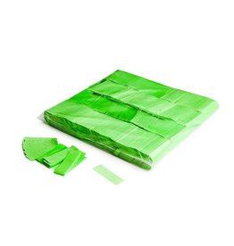 Magic FX Slowfall confetti UV 55x17 mm - 1kg - Vert Fluo