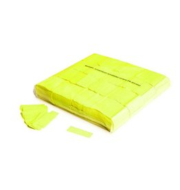 Magic FX Slowfall confetti UV 55x17 mm - 1kg - Jaune Fluo