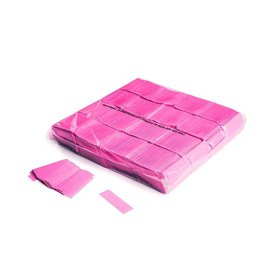 Magic FX Slowfall confetti UV 55x17 mm - 1kg - Rose Fluo